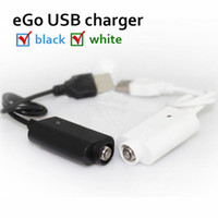 Wholesale Ego W F1 - USB Charger Cable for CE4 CE6 Electronic Cigarette USB Ego-T Ego-C Ego-W F1 Ego-CE4 CE6 e cigarette ecig Kits pack Free