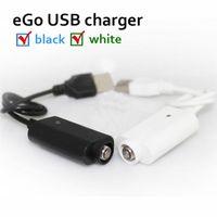kits ego e cigarette ce6 achat en gros de-USB Chargeur Câble pour CE4 CE6 Cigarette Électronique USB Ego-T Ego-C Ego-W F1 Ego-CE4 CE6 e cigarette cigarette kit gratuit