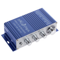 Wholesale Brand New Universal CD DVD MP3 Input Hi Fi Car Stereo Audio Amplifier RMS W W CEC_802