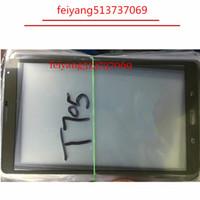 tablet pc touch lcd toptan satış-Kaliteli bir 8.4inch YENİ Değiştirme LCD Ön Dış Cam Lens için Samsung Tab S T700 T705 C Tablet PC Dokunmatik Ekran Cam Sayısallaştırıcı