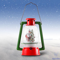 Wholesale Led Lights For Decorating Weddings - LED Christmas snow Lamps Portable Lamp Lighting Novelty Gift Christmas Decoration for store window scene decorate creative angel Christmas