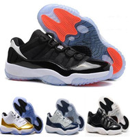 High Quality Air Retro 11 Basketball Shoes Mens Bred Citrus Concord Bred Georgetown GS Sneakers Designer Low Retro XI 11s para homens US8-13