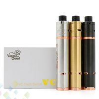 Wholesale Fat Buddha - Newest VCM2 Kit VCM2 Mechanical Mod Matching With Mini Fat Buddha RDA Kit Clone 24mm Diameter 3 Colors High Quality DHL Free