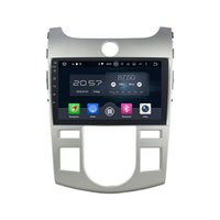 Wholesale Dvd Gps For Kia Forte - 9'' Android 6.0 Car DVD Radio Player For Kia CERATO FORTE (AT) 2008-2012 With Map Rearview Camera