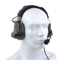 Wholesale airsoft tactical headsets resale online - SINAIRSOFT Z tactical Sordin Tactical Headsets Airsoft Comtac Z ZComtac II Headset Style Helmet Noise Canceling Headphone Earphone