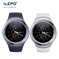 Wholesale Lcd Bracelet Watch - Y1 Bluetooth Smart Watch Phone Bracelet Wristband 1.54 inch TFT LCD Circular screen Micro USB For Android Cell Phones