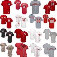 Wholesale Kids Fashion Male - 2017 Male Female Kids Cincinnati Reds Customized Victory Fashion stars&stripes Los Rojos USMC Training Cool Flex Baseball Jerseys Red White