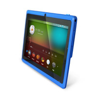 Wholesale Epad Android Inch - 5PCS 7 inch Capacitive Allwinner A33 Quad Core Android 4.4 dual camera Tablet PC 4GB ROM 512MB WiFi EPAD Youtube Facebook Google