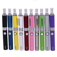 Wholesale Battery Pack Mah - MT3-EVOD Blister Pack Kit - new electronic cigarettes starter kit with MT3 atomizer and 650 900 1100 mAh EVOD battery vaporizer pen
