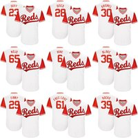 Wholesale Dry Bones - 2017-Little League World Series Cincinnati Reds Adam Duvall Duvy Billy Hamilton Bone Blake Wood Blake Devin Mesoraco Mens Kids MLB Jerseys