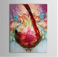 Wholesale Canvas Paintings Wine Glasses - Still Life Wine Cup Wine Glass,High Quality Hand Painted Modern Home Decor Abstract Wall Art oil painting On Canvas Multi size,my410