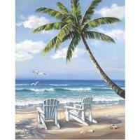 ingrosso dipinti a mano da spiaggia-Modern Seascapes dipinti ad olio d'arte Hidden Beach Sung Kim riproduce la decorazione della parete dipinta a mano