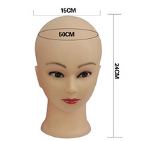Wholesale Mannequins Hat - Female Mannequin Head Model Wig Hat Jewelry Display Cosmetology Manikin Hairdressing Doll Women Hairdresser Sent Randomly For Makeup + Clamp