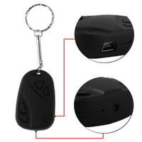 ingrosso portachiavi video digitale-Mini Key Camera 808 KeyChain Digital CAM catena DV DVR Web Cam Videocamera Registratore