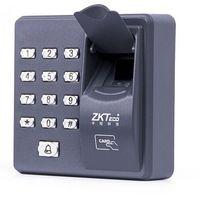 puertas biometricas al por mayor-Lector biométrico de huellas dactilares autónomo para el control de acceso del intercomunicador de la cerradura de puerta 125KHZ X6