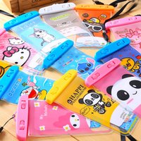 Wholesale Waterproof Promotional Bags - For iPhone Samsung Universal Cartoon Promotional clear pvc waterproof phone bag pvc waterproof bag