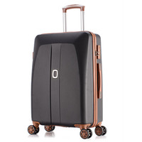 Wholesale New Style Luggage - Women travel suitcase , ABS+PC Leisure Travel trolley case, new style, men sports traveling bags luggage bag, lock, mute, 20 24 26