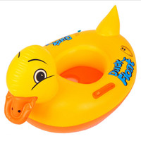 Wholesale Inflatable Yellow Duck - 97*54CM Giant Inflatable Pool Float Yellow Duck Pool Toys High Quality And Cute Swimming Pool Toys For Kids