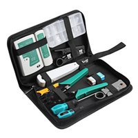 Wholesale Computer Networking Tool Kit - 12 in 1 Professional Computer Repair Tools Kit Flat Screwdriver Wire Cutter Computer Maintenance Network Repair Tool Box Kit Hot