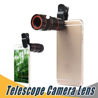 Wholesale Universal X Telescope Lens Zoom Smart Optical Telescope Camera Lens With Removable Clip Cell Phone Photograph Accessories