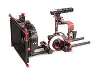 Wholesale Rig Follow Focus Kit - CAME-TV Sony A7 Series Cameras Carbon Fiber Rig Mattebox Follow Focus Kit