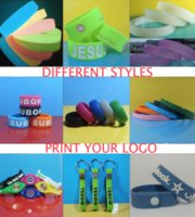 Wholesale Screen Print Silicone Bracelet - Professional custom silicon bracelets silk screen print laser carving embossed Custom LOGO Rubber Silicone Different Patterns Customized