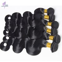 Wholesale Healthy Hair Color Products - Raw Healthy Modern Show Hair Products Peruvian Body Wave Human Hair Bundles Peruvian Virgin Hair Bundles 10-28 Inch Mixed Length
