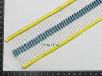 Wholesale 68 Led - Wholesale- 50pcs 1W Metal Film Resistor 68 ohm 68 R + - 1% RoHS Lead Free In Stock