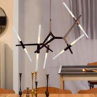 moderna araña de luces cuadradas al por mayor-Modern Chandelier Crystal LED Lámparas de techo Fixture Square Montaje de superficie Crystal Ceiling Lamp Pasillo de pasillo Asile Light Ceiling Light