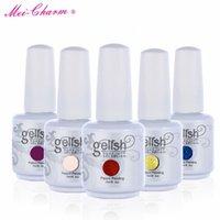 ingrosso 15ml polish gelish-2017 Nuovo arrivo Mei-fascino 602 colori gelish SOAK OFF smalto 15ml 0.5 oz nail gel nail bellezza DHL libero