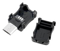 t steckdosen großhandel-Neue Micro-USB-5-Pin-T-Port-Stecker-Steckdose Kunststoffabdeckung