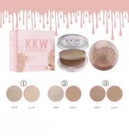 Wholesale Oil Stocks Prices - (IN STOCK )DHL free shipping ! lowest price ! hot new makeup KKW BY KYLIE COSMETICS smooth Powder Double-deck 3 COLOR