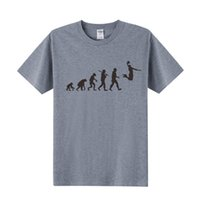 Wholesale Evolution Men - EVOLUTION Basketball T Shirt Slam Dunk Printed T Shirts Men Short Sleeve O-Neck Cotton Men Fahion T-shirt Tops OT-081