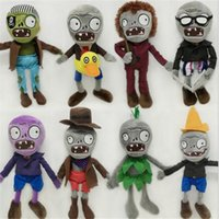 Big Kids Unisex Anime & Comics Zombies Soft Plush Toy Games Soft Stuffed Animal Toys Creative Gifts Plants vs Zombies Plush Christmas Doll