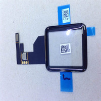 Wholesale Ems Free Watch - 50PCS Touch Screen Glass Panel Digitizer for Apple Watch Sport Edition Watch 38mm 42mm free DHL EMS