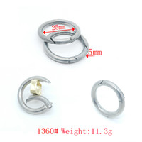 Wholesale Welded D Ring Wholesale - Standard binder round spring metal o rings zinc alloy slingshot ring hardware welded d ring for keychain