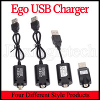 Wholesale Ego O - Ego 510 E Smart 808D USB Wireless Charger Cable For 510 Thread EGO T Evod Battery Vaporizer O Pen Vape USB ecig charger
