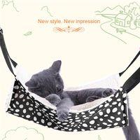ingrosso alta gabbia-Polk Dot Pet Rat Coniglio / Ferret Chinchilla / Cat Cage Hammock Piccolo cane Bed Cover Bag coperte di alta qualità