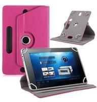 ingrosso migliori compresse per-Custodie per tablet PC universale Flip Fold Custodia girevole a 360 gradi con fibbia Custodia in pelle per tablet 7 8 9 10 pollici ipad mini air 2 3 4 best