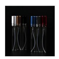 nueva botella de perfume de cristal colorida caliente ml caliente con atomizador envases vacos del cosmtico para el recorrido