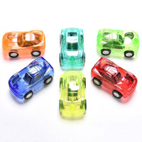 Wholesale Great Pull - 1Pc Great Pull Back Car Plastic Cute Toy Cars For Child Wheels Mini Car Model Kids Toys For Boys Candy Color New Arrival