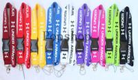 ingrosso migliori telefoni cellulari-Nuovo! I nove colori più venduti! Lanyard Keychain Portachiavi ID Badge Porta cellulare Portamonete.
