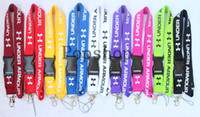 Wholesale Key Badges - New! The best-selling nine colors! Lanyard Keychain Key Chain ID Badge cell phone holder Neck Strap.