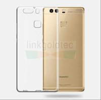 Wholesale Shock Camera - hotselling transparent silicone protection case protect the camera, shocking proof, full cover for huawei P9, P9 Plus
