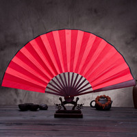 Wholesale Cheap Folding Fans - White Folding Elegant Silk Hand Fan Ladies Outdoor Wedding Party Favors Gift Bamboo Cheap Fans Colorful Decor Diy Fan