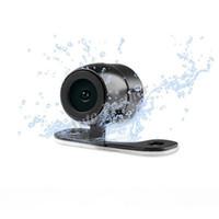 universal-auto-videos großhandel-Wasserdichte Auto-Rückfahrkamera Rückfahrkamera HD Rückfahrkamera Auto Parktronic View Angle Universal mit 6m Videokabel