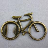 велосипедное кольцо для ключей оптовых-Старинные Велосипедов Открывалка Для Бутылок Кольцо Алюминиевого Сплава Открывалка Брелки Металлические Брелок Кольца Вино Пиво Открывалка Металлические Ремесла Открытая Кухня Инструменты