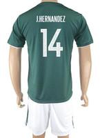 Wholesale Thai Wholesale Soccer Jerseys - Customized Mexico new men 14 J.HERNANDEZ Thai Quality Soccer Jerseys Sets,discount 16 H.HERRERA 18 A.GUARDADO 15 MORENO 17 LOPEZ Soccer Wear