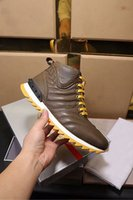 Wholesale Top Italian Shoes For Men - Luxury Pra High Top Shoes For Mens Rivet Winter Snow Genuine Leather Italian Shoes Antiskid bottom of the sponge Size 38-44