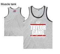 Wholesale Tank Top Undershirts Women - European and american fashion loose taylorgang hiphop tank tops summer men and women plus size xxxl undershirt sport tank tops top quality